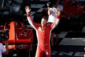 Sebastián Vettel se alzó con el Gran Premio de la Fórmula 1