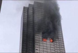 Incendio en la torre Trump deja un muerto y cuatro heridos