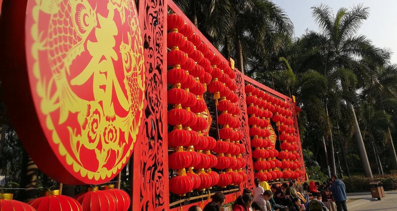 Mural del Año nuevo chino