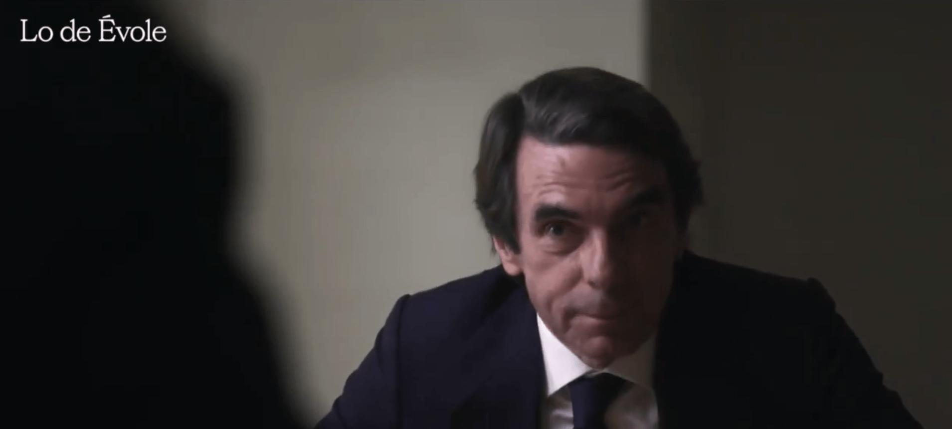 José María Aznar en su entrevista en Lo de Évole