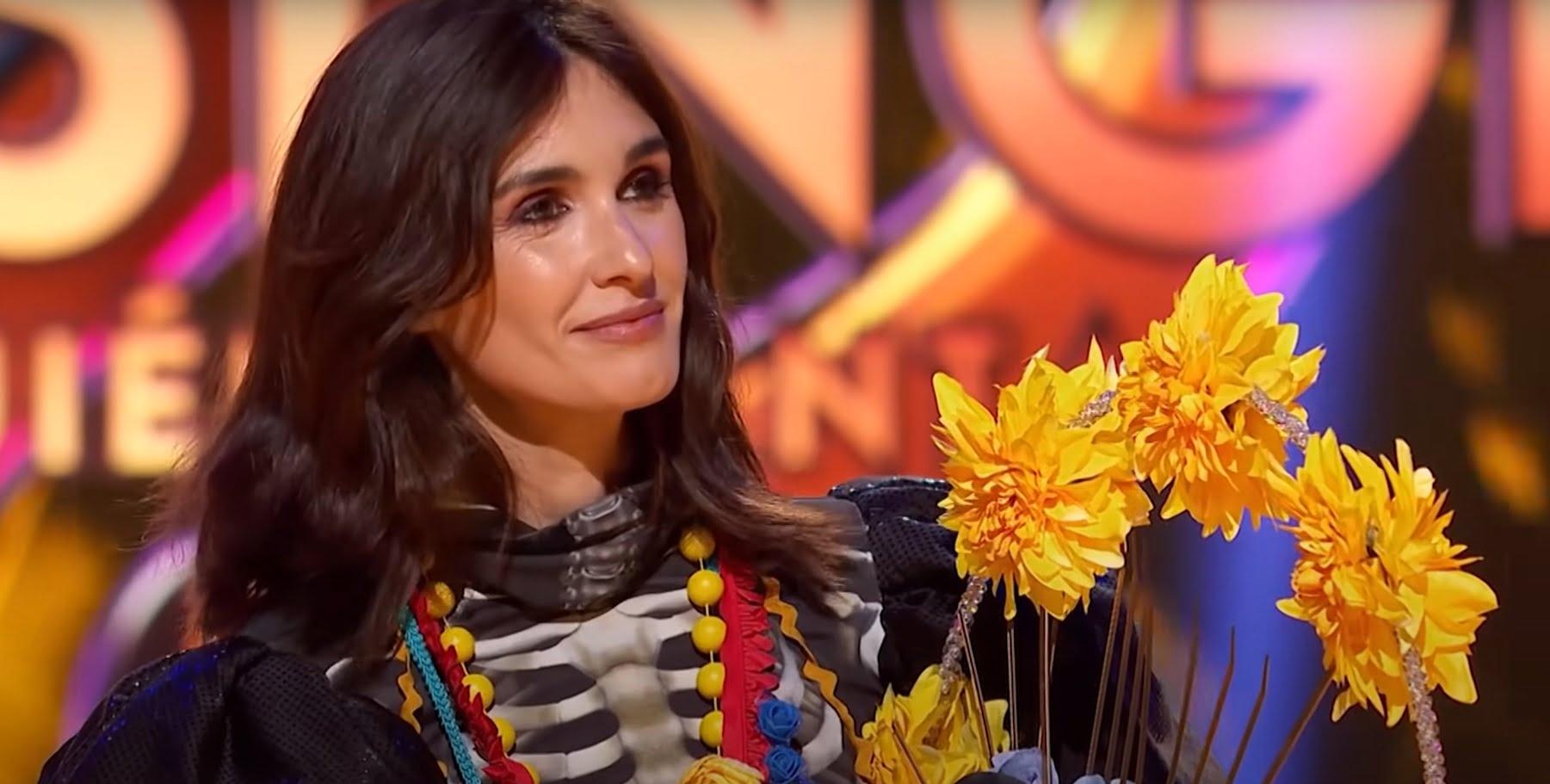 Paz Vega después de ser desenmascarada en 'Mask Singer'