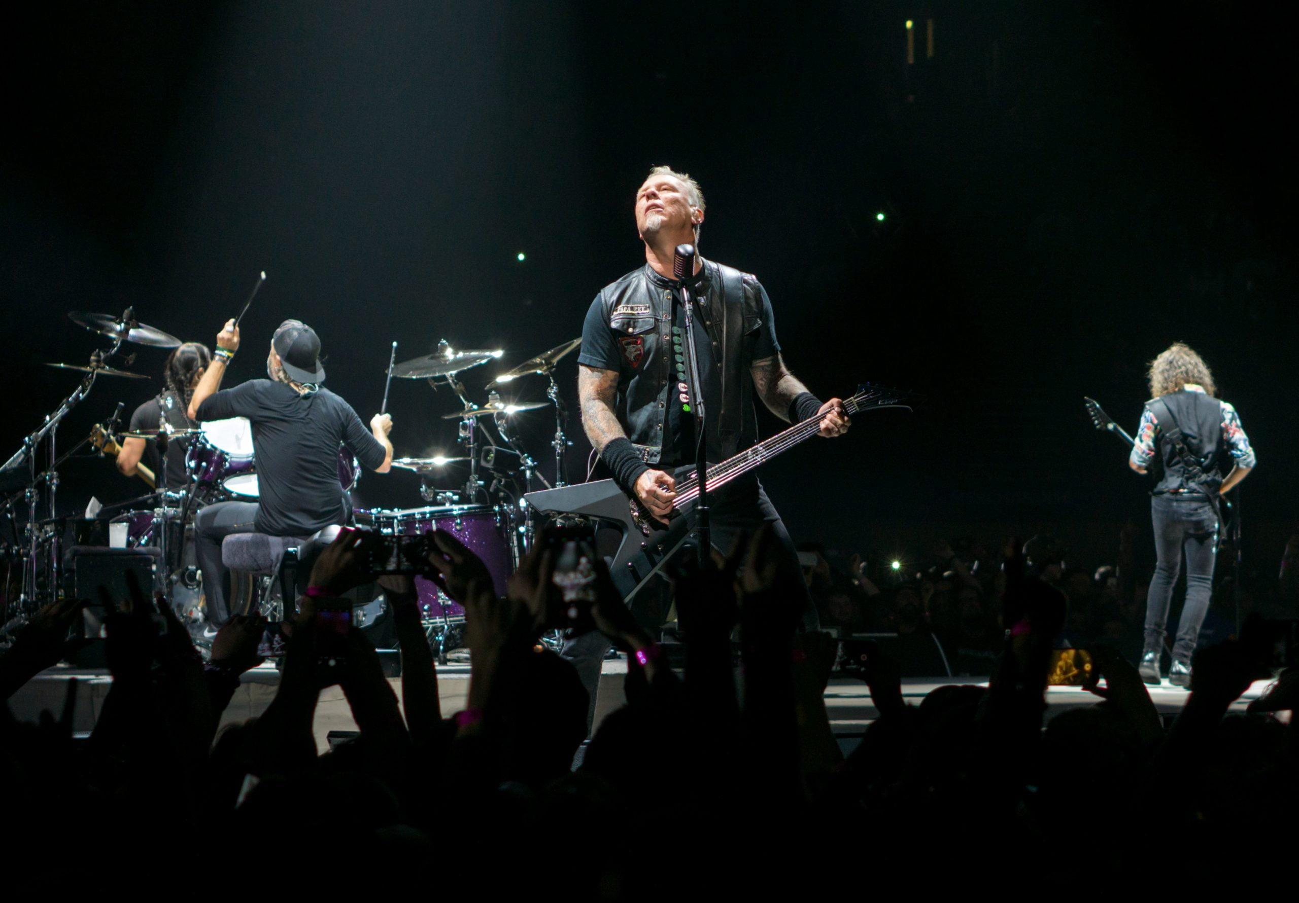 Por problemas de derechos Twitch no puede transmitir las canciones de Metallica durante su presentación en la Blizzcon