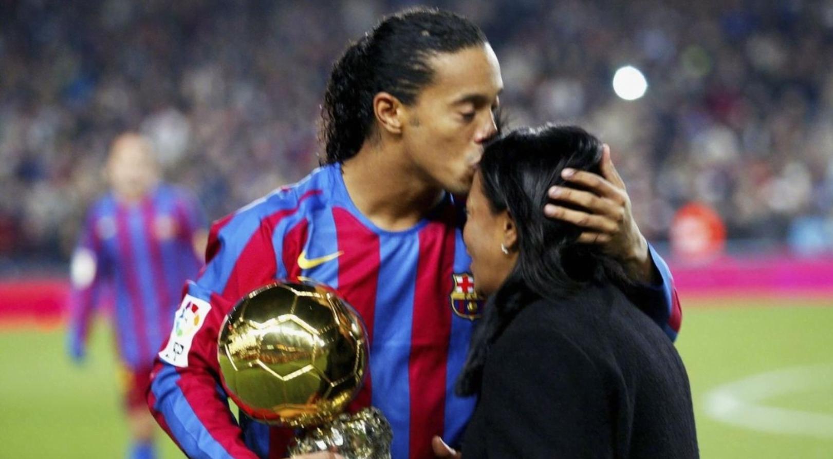 Muere la madre de Ronaldinho por Covid-19
