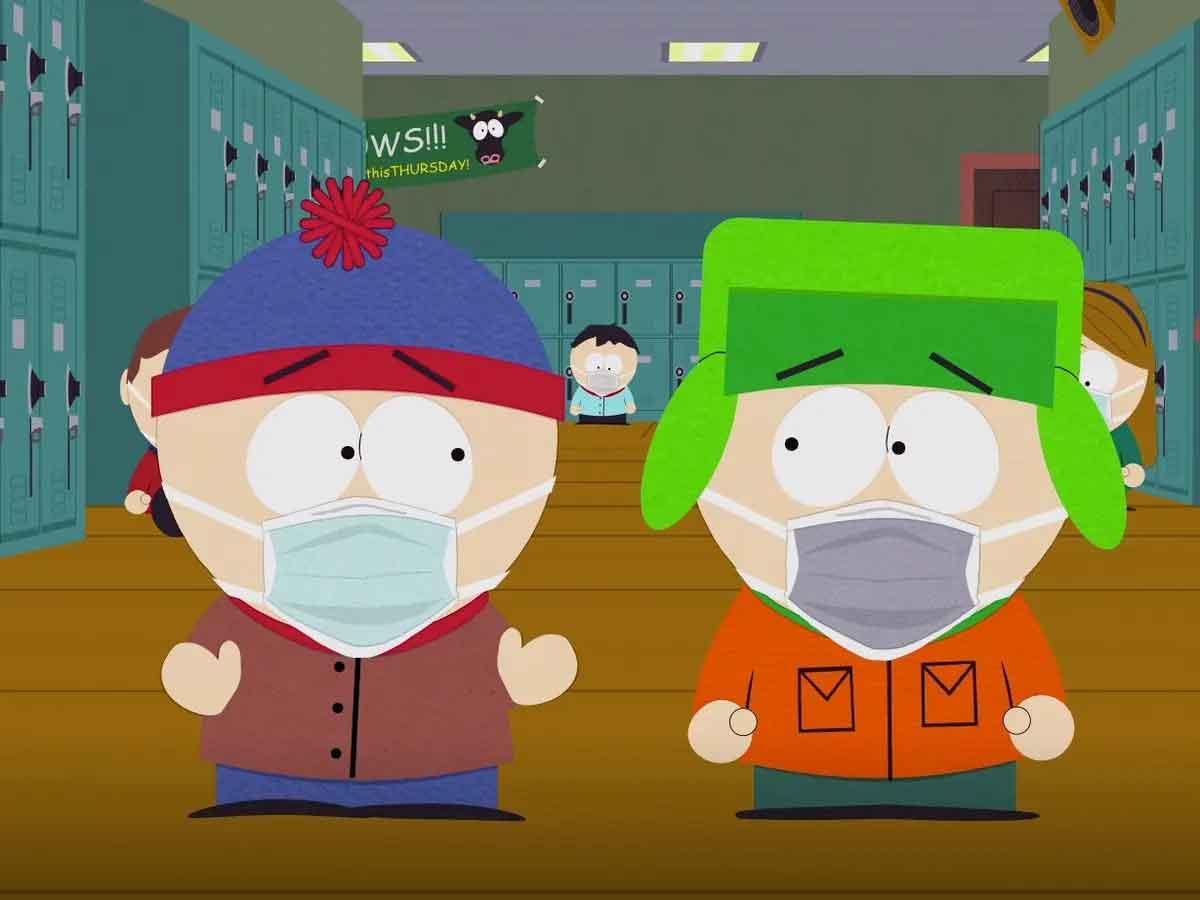 """""""South Park"""" vuelve a la televisión para hablar de las vacunas y de QAnon"""