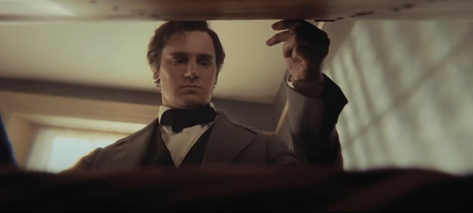 Escena de la película Abraham Lincoln cazador de vampiros