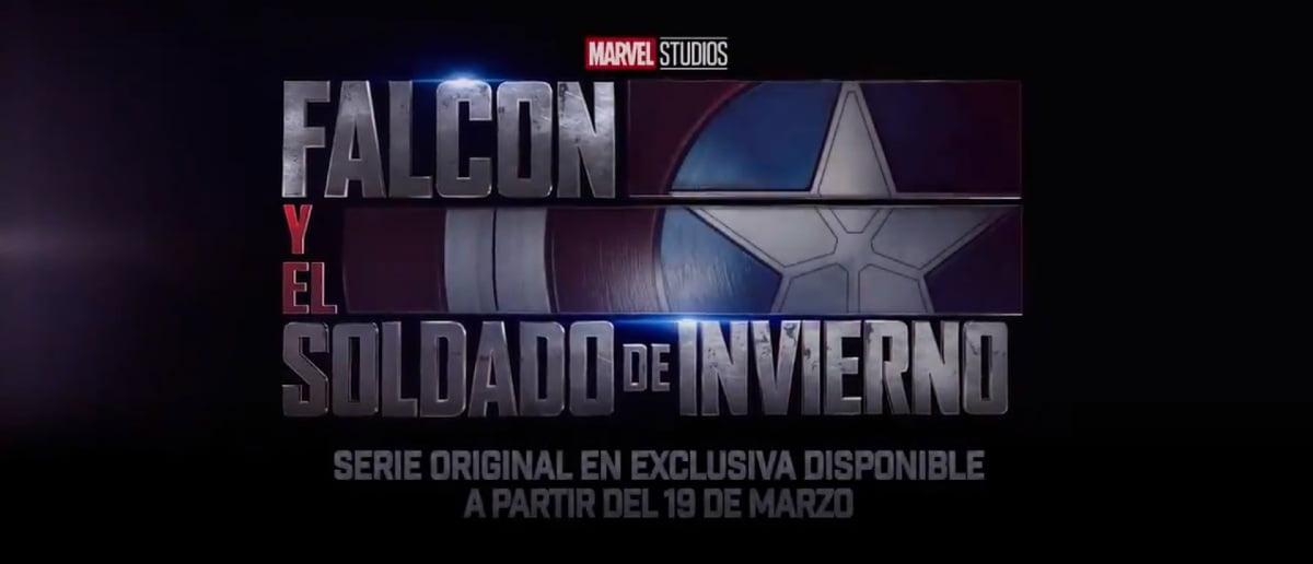 Cartel de la serie Falcon y el Soldado de Invierno