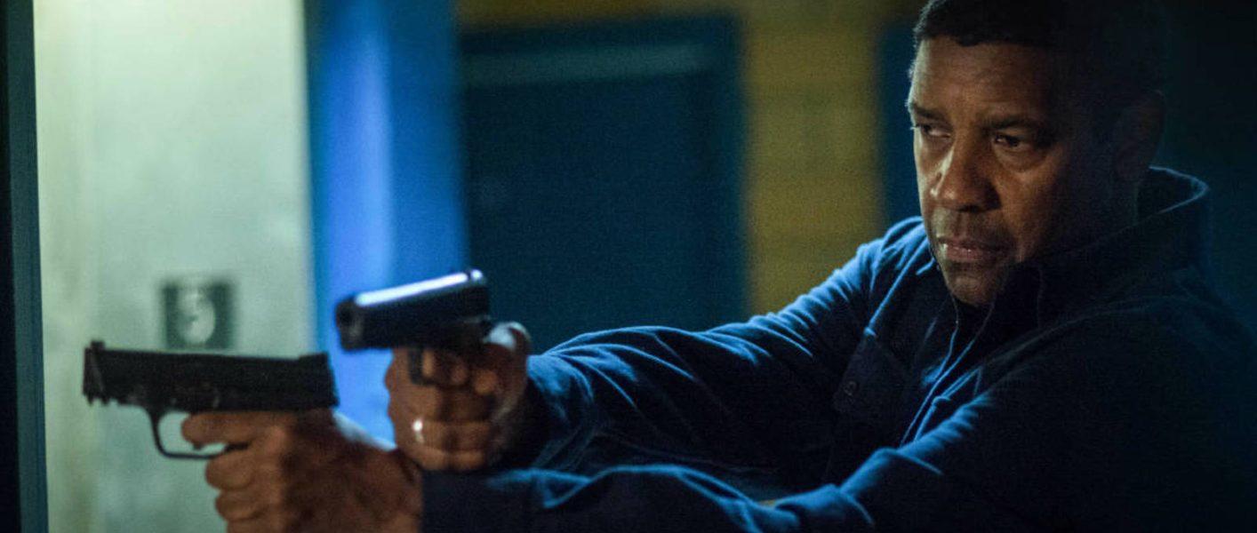 Denzel Washington en una escena de The Equalizer