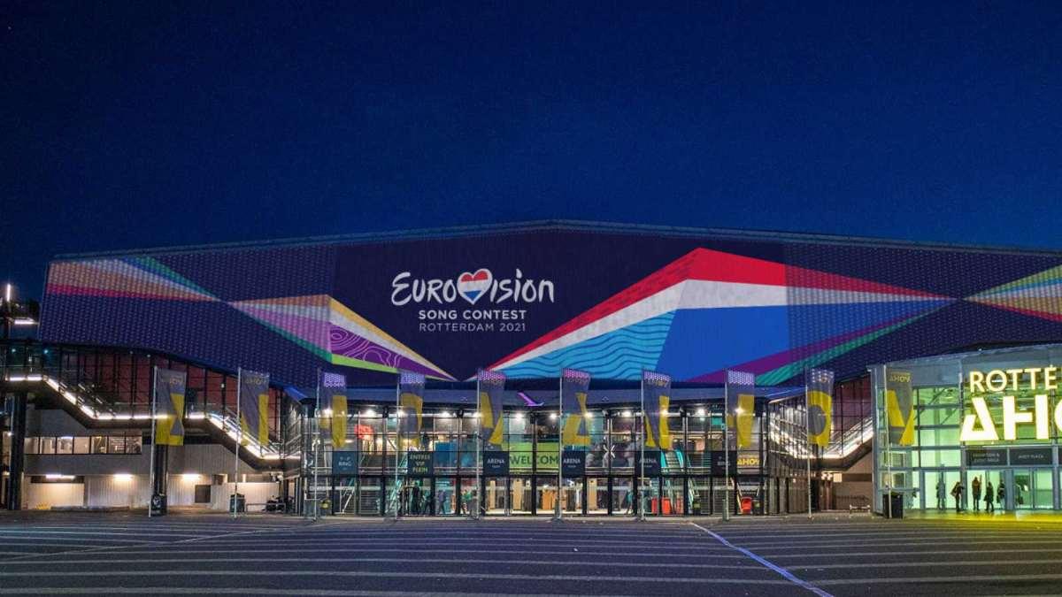 Pabellón de Rotterdam en el que se celebrará Eurovisión 2021