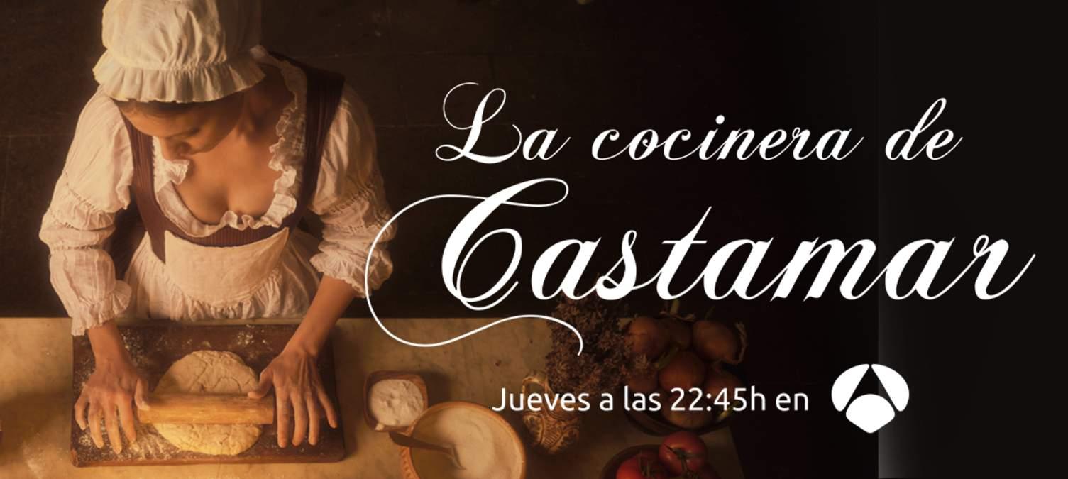 Cartel promocional de La cocinera de Castamar