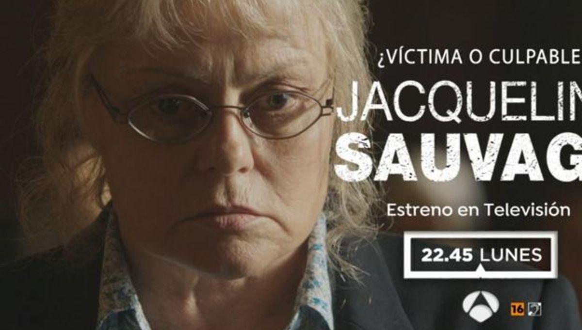 Imagen promocional de Antena 3 sobre la película de Jacqueline Sauvage