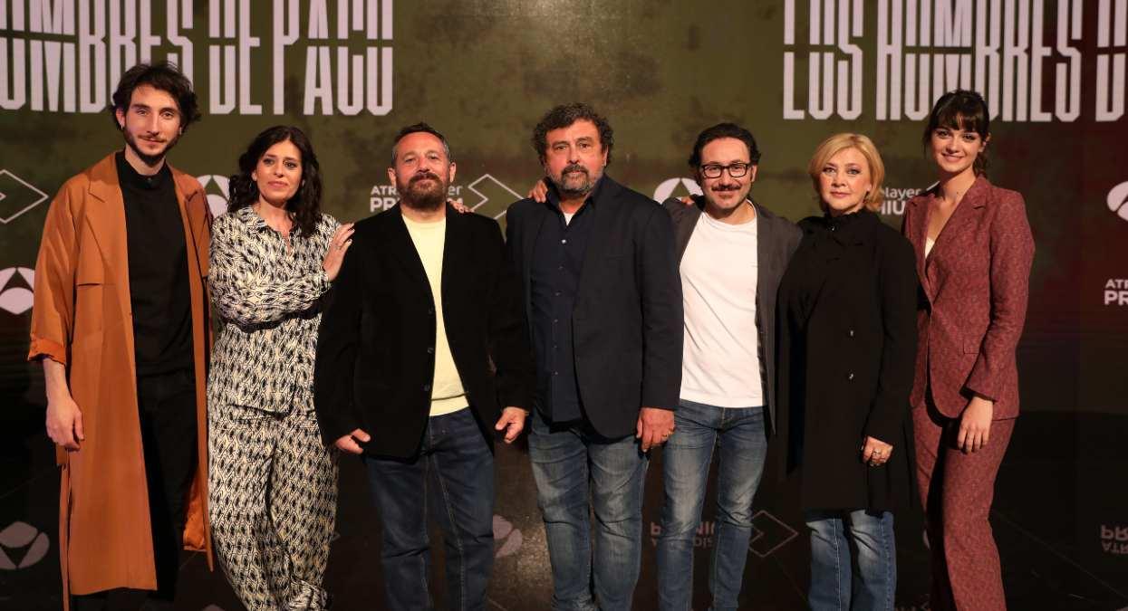 Elenco de la nueva temporada de Los hombres de Paco