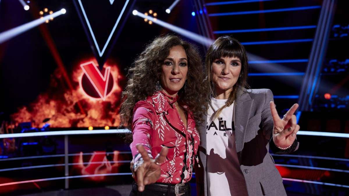 Rosario y Rozalén en las batallas de La Voz Kids