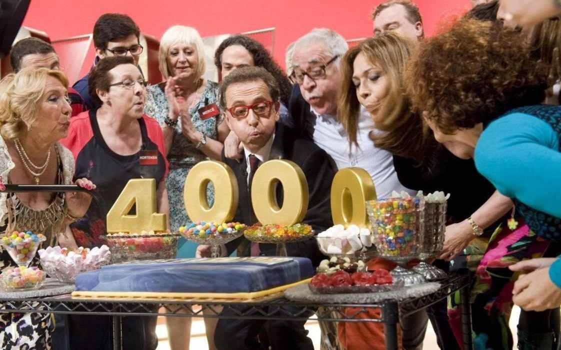 Cumpleaños del presentador Jordi Hurtado