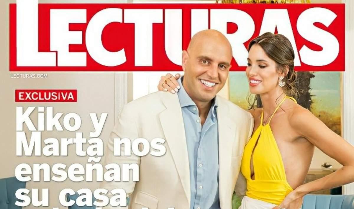 Kiko Matamoros y su pareja en la revista Lecturas
