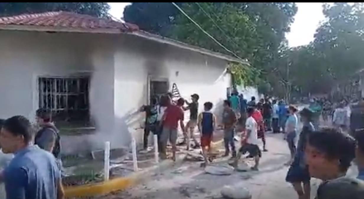 Casa del italiano asesinado