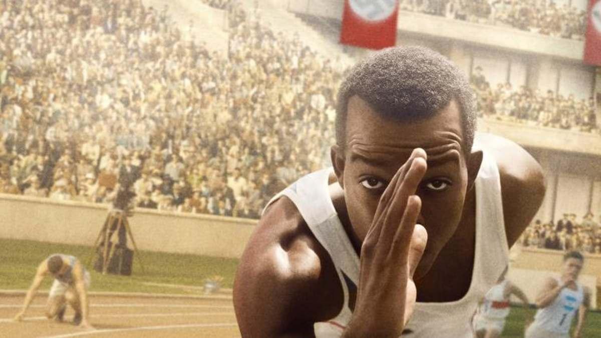 Cartel de la película de Jesse Owens